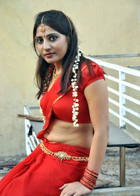 Indian sexy aunty saree