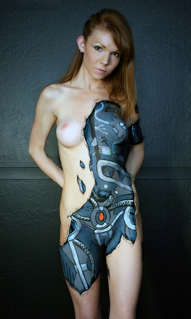 Hot And Sexy Body Painted Girls