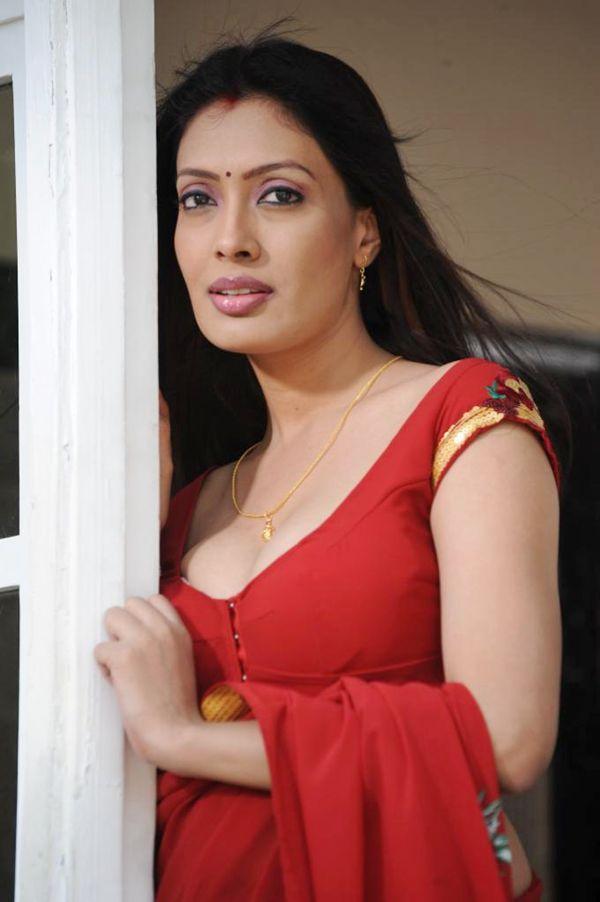 Mallu Actress Hot And Spicy Photos In Saree