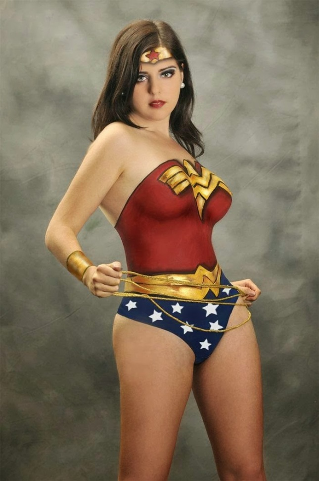 cosplay body painted girls craziest photo collection
