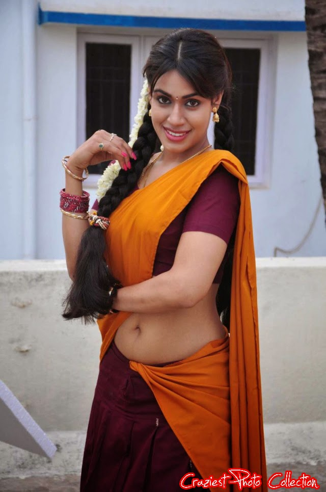 22 Hot South Indian Actresses In Half Saree Craziest Photo Collection