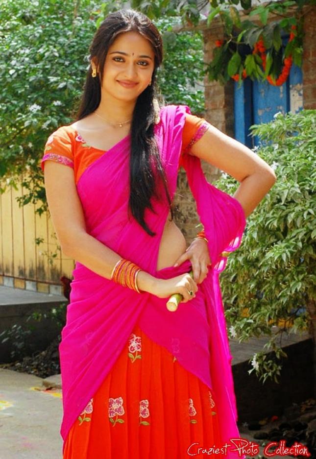 22 Hot South Indian Actresses In Half Saree  Craziest -3778
