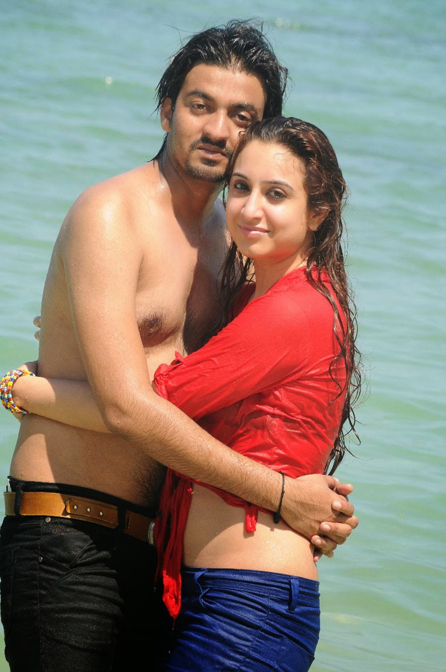East Indian couple Mallu bhabhi