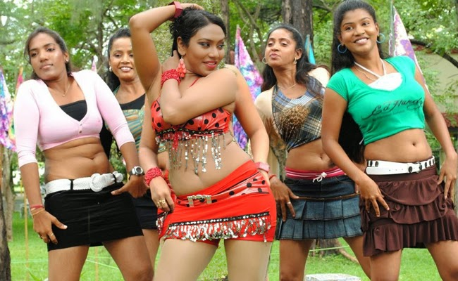 South Indian movie dance