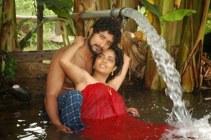 Tamil movie love scene